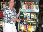 Lucky  Triple 7 winner at the slots