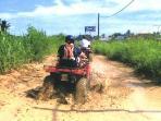 4 wheel quad ride