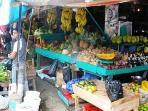 Downtown Fruit market is colorful