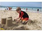 Hapuna Beach Sand Castles