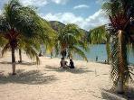 Lovely Margarita beach