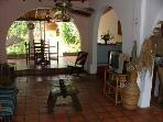 Casa Maria living room