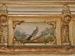 Original ceiling painting detail