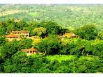 distant view of villas