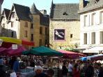 Sarlat Market Day