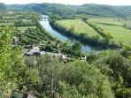 Dordogne valley view from Domme