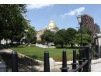 Mass. Statehouse (1 minute walk from the apartment)
