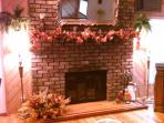 1 of 3 fireplaces in the house