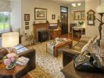 Elegant and comfortable living-room - phone includes free UK telephone calls