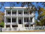 Bring a sketchbook or  camera for Antebellum mansion in the district.