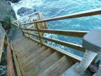 Steps to Sea