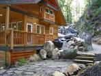 Cabin rockery.