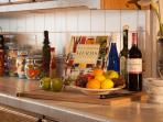 Get creative in the well supplied kitchen