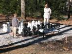 Life Sized Chess Set