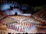 Military Tattoo at the festival