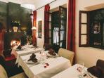 Marrakech Riad fine dining