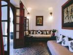Marrakech Riad cosy salon