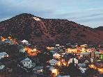 Bisbee at sunset