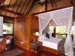 Villa Kanti Ubud Bali - Master Bedroom Upper Floor