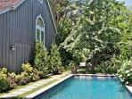 40' x 12' pool - perfect for swimming laps or doing the doggie paddle