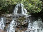 Laurel Falls-Smoky Mtn National Park.. Easy Paved Walk