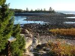 Walk out to Little Moose island at low tide, Schoodic Point.
