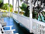 Furnished 2nd floor Wraparound Porch