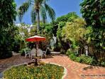 Landscaped Garden Paths in Courtyard