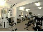 Fitness room. Resistance and cardio equipment