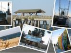 Fresh seafood, attractions, kayaking, pier fishing, etc