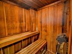 440 West sauna