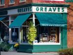 Greaves Jams shop for all your culinary needs.  All guests receive a 10% discount during your stay.