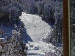 View of Thunderhead High Speed Quad Lift from Master Suite