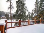 Great Keystone views from your large deck!