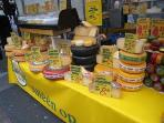 Cheese at the Albert Cuyp Market