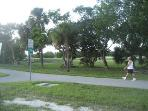 Everyone uses the bike path - it's a must do!