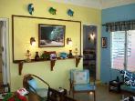 Living room great cross ventalation