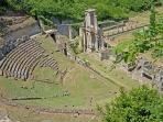 Roman Amphitheatre in Volterra