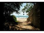 Mancora Beach Peru - Access taken from the street border property