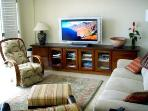 Living Room - HD Sony XBR TV with Bose Stereo Surround Sound - Ocean View