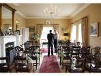 A Civil Wedding Ceremony at Rathellen House - the final preparations!