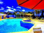 Our pool and Spa plus clubhouse