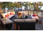 Enjoy the decks of Breezy; this main deck is 5x10m (15x30ft)