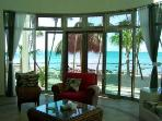 View from Livingroom at Casa Caribbean Soul in Tankah Bay