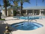 CASITA VEGAS                  POOL AND SPA AREA Leads to exercise room