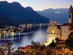Church in Pognana Lario above the Lake Como Beach Resort
