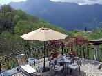 Large open terraces