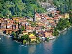 Gorgeous Varenna by Seaplane