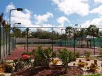 The Cliff's tennis court