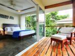 Bedroom 2 and Balcony